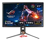 ASUS ROG SWIFT PG27UQ 27'' 4K Gaming Monitor, 144 Hz, G-SYNC...