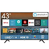 Hisense H43BE7000 Smart TV LED Ultra HD 4K 43', HDR, Dolby...