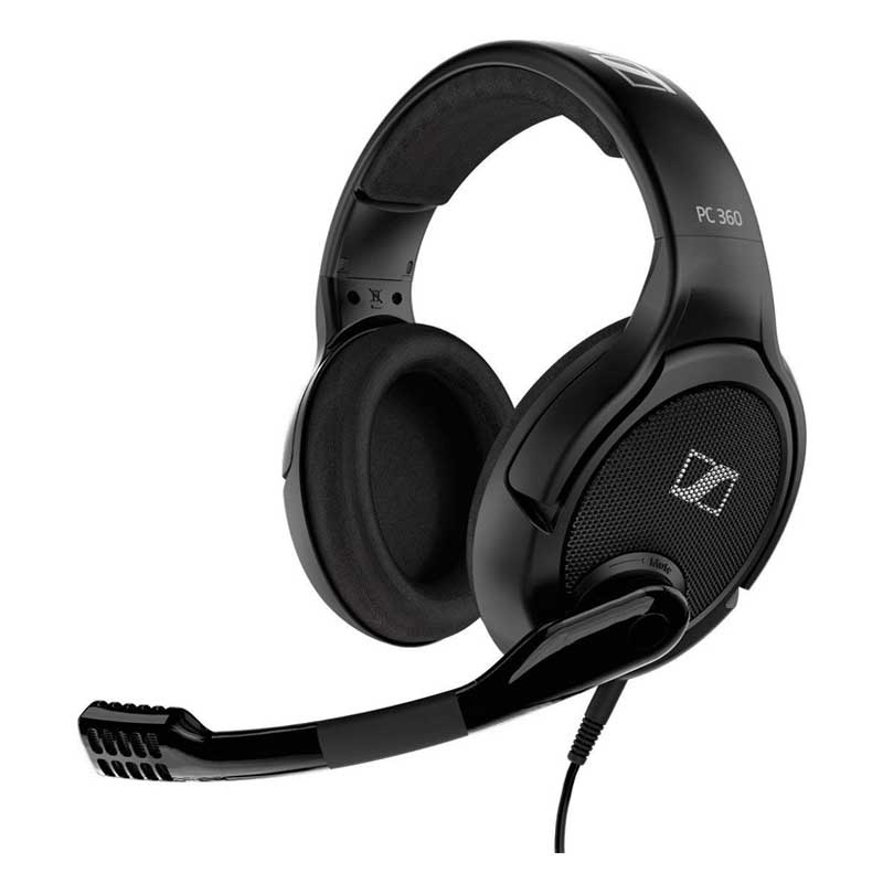 Sennheiser PC 360 Special Edition Cuffia da Gaming Microfonica Colore nero