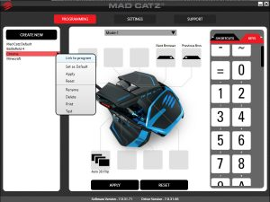 Mad Catz RAT TE software