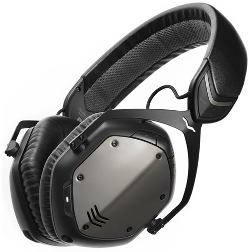 cuffie da gaming PC wifi V-moda crossfade m-100 con look moderno, color grigio metallo