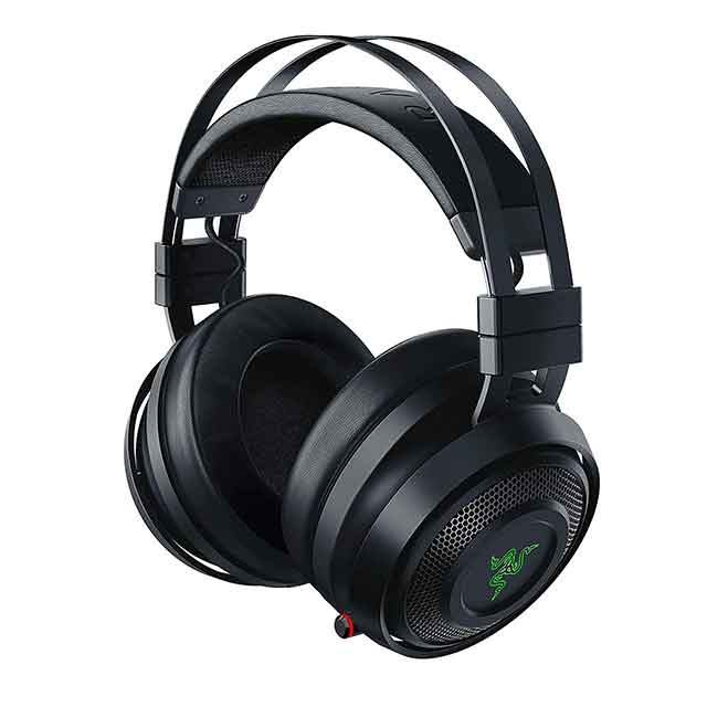 Cuffie gaming wireless razer nari