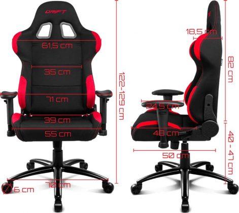 Migliori sedie gaming sotto 200 Nidro Dr 100