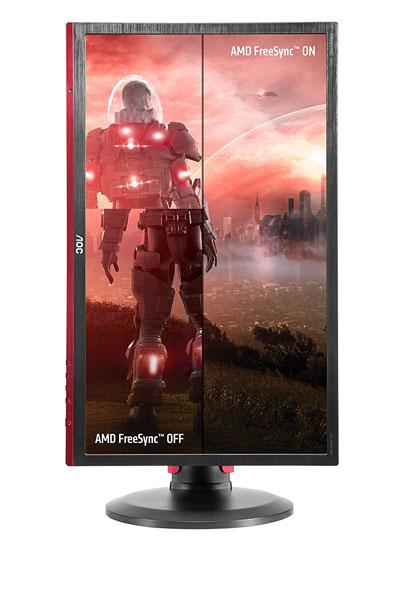 AOC G2460PF monitor gaming pivot