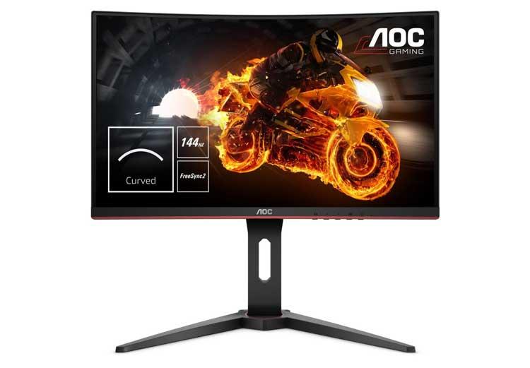 Miglior Monitor curvo gaming AOC g27g1 144Hz 27 pollici