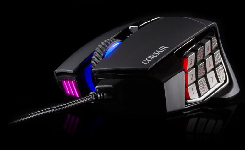 migliori mouse gaming corsair scimitar