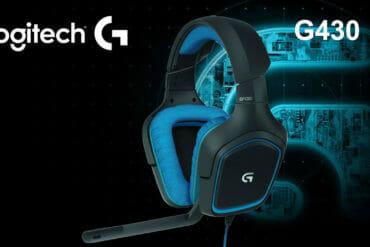 Recensione cuffie gaming logitech g 430