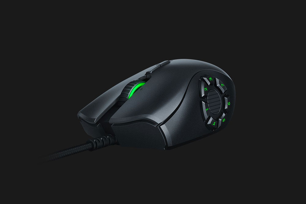 recensione razer naga trinity mouse gaming moba