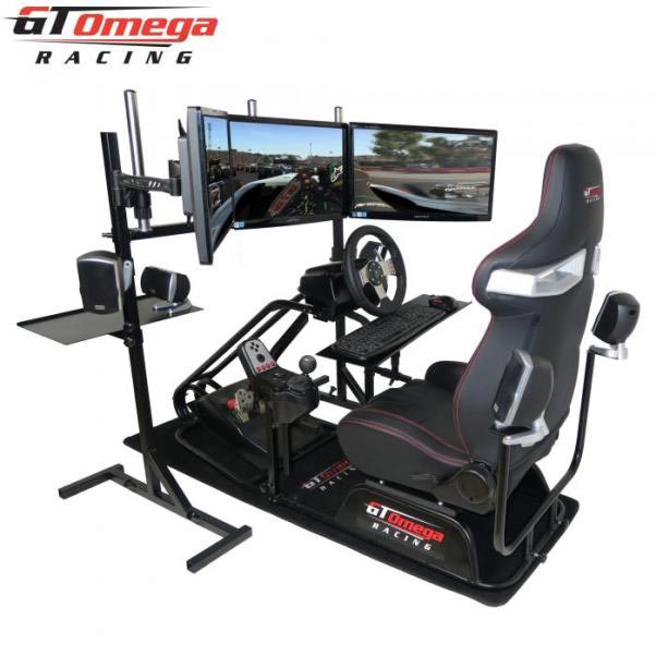 gtomega racing cockpit