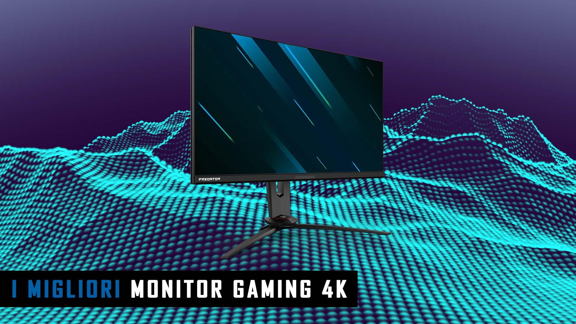 migliori monitor gaming 4k