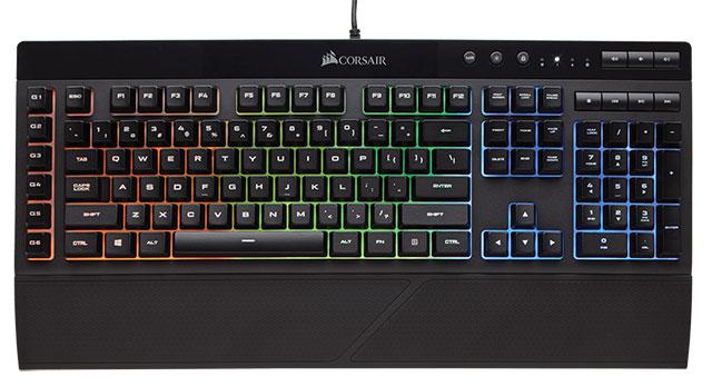 migliori tastiere da gaming corsair k55