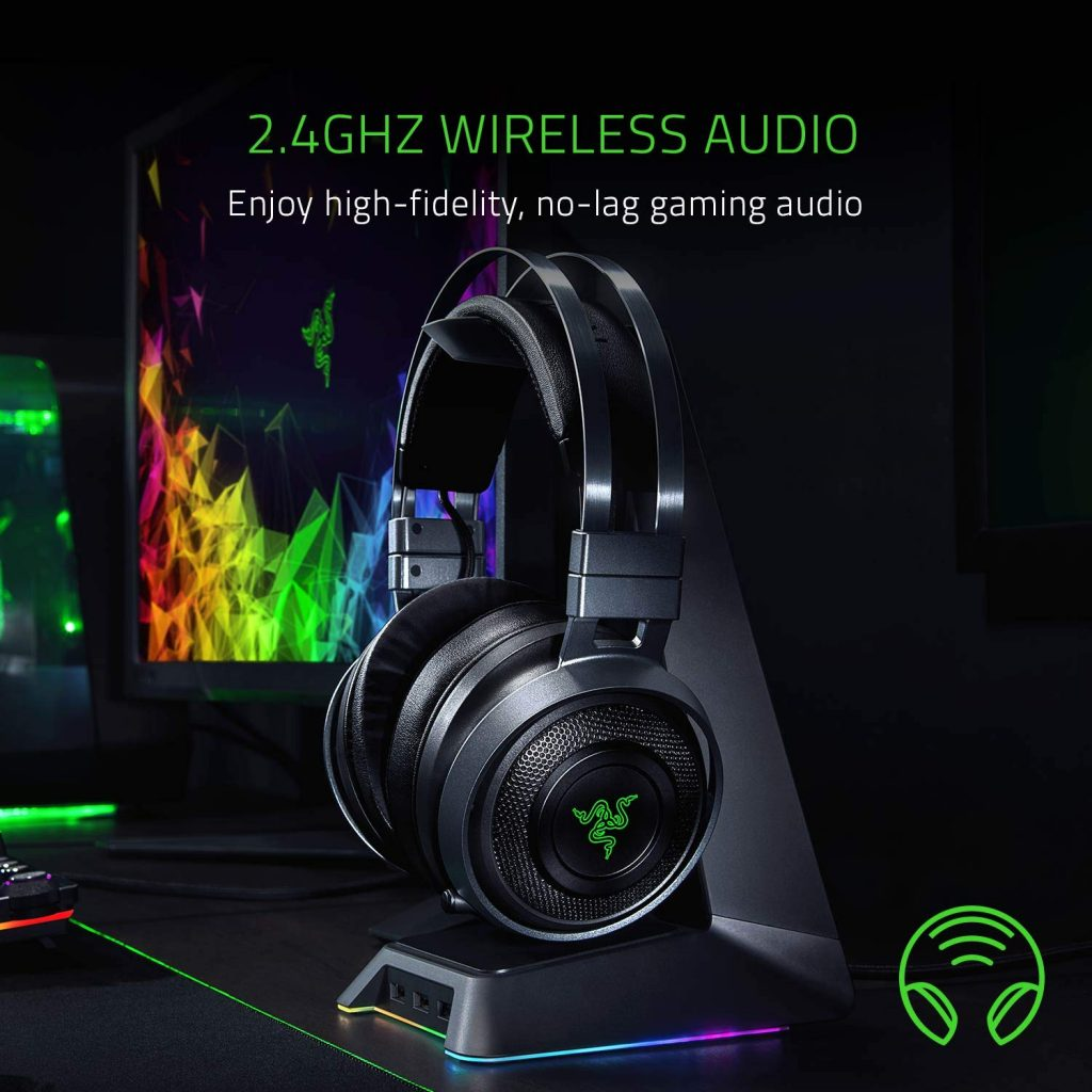 Razer Nari Ultimate wireless cuffie gaming