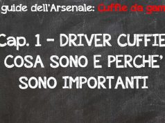 driver cuffie gaming