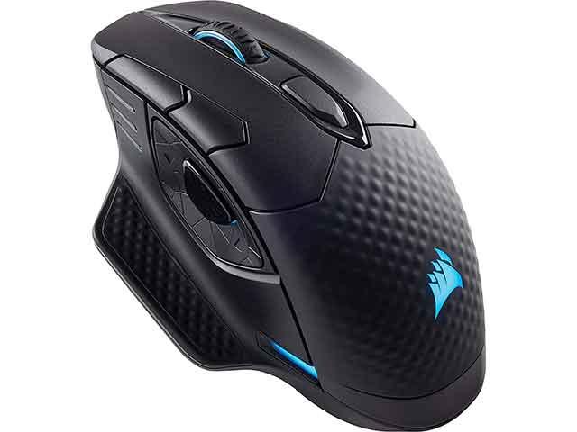 Il mouse da gaming wireless corsair Dark Core uno dei migliori modelli sul mercato