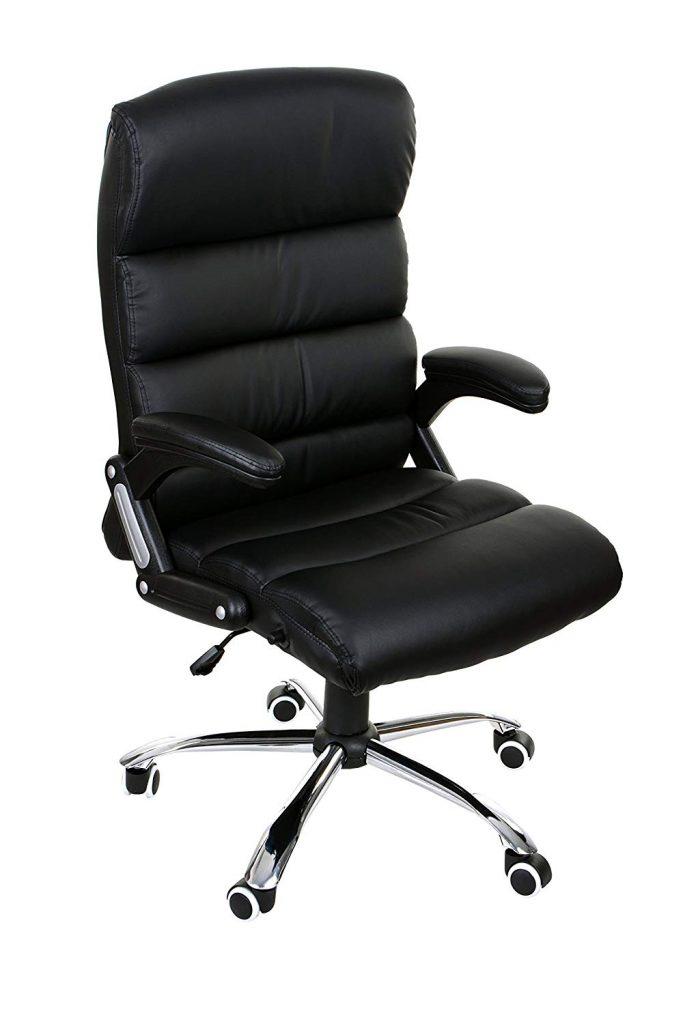 Sedia da gaming economica in elegante stile ufficio colore nero