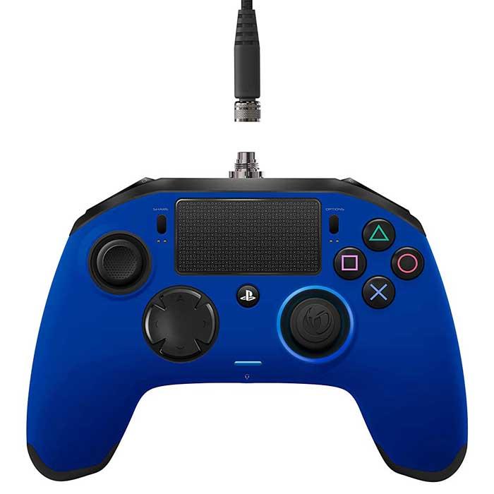 Joypad ps4 colore blu marca Nacon modello Revolution pro