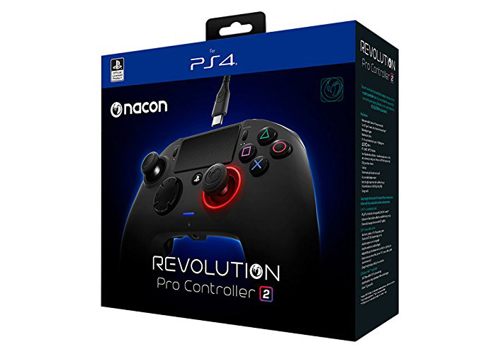 Scatola del controller ps4 Nacon Revolution pro 2