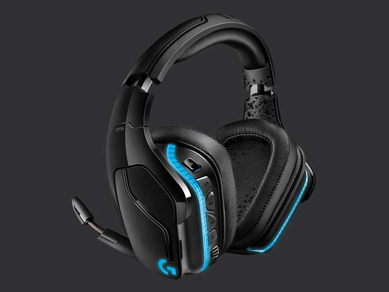 Cuffie gaming wireless 7.1 Logitech g935