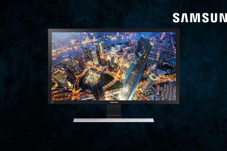 Recensione del Monitor samsung U28E570D