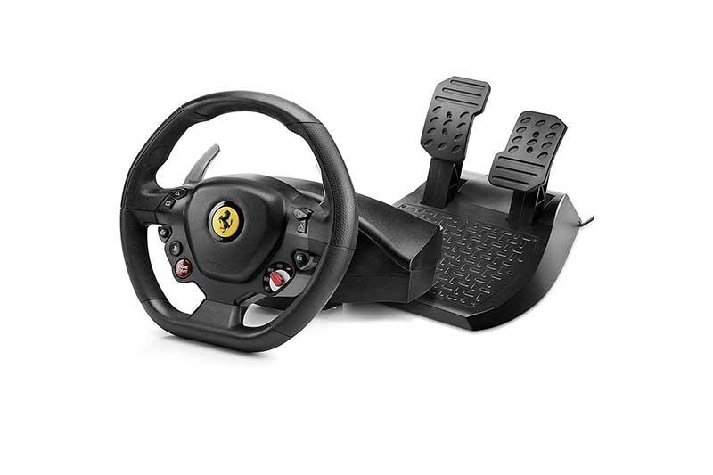 miglior volante con pedali economico ps4 Thrustmaster T80