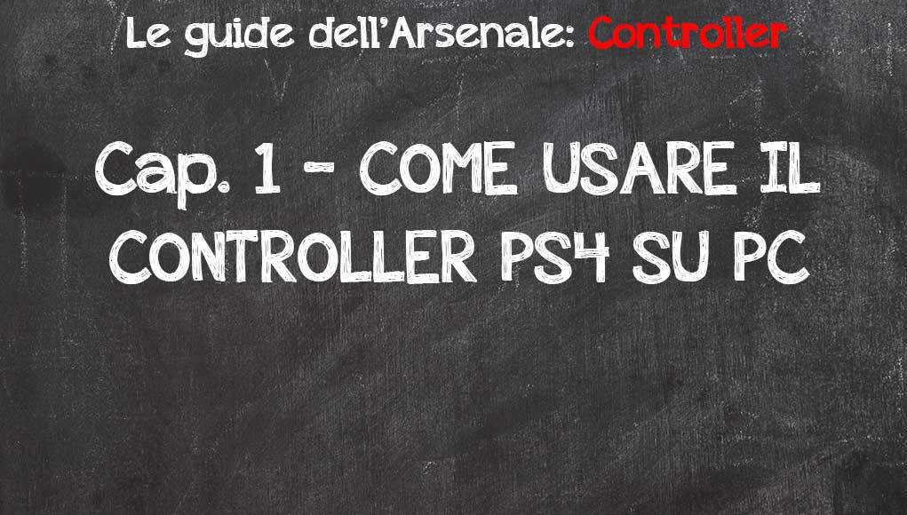 come usare il controller ps4 su pc