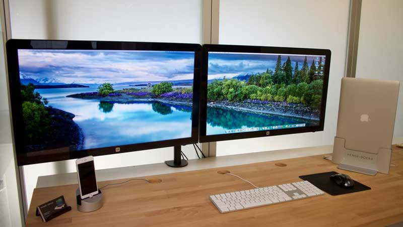Postazione gaming PC dual monitor