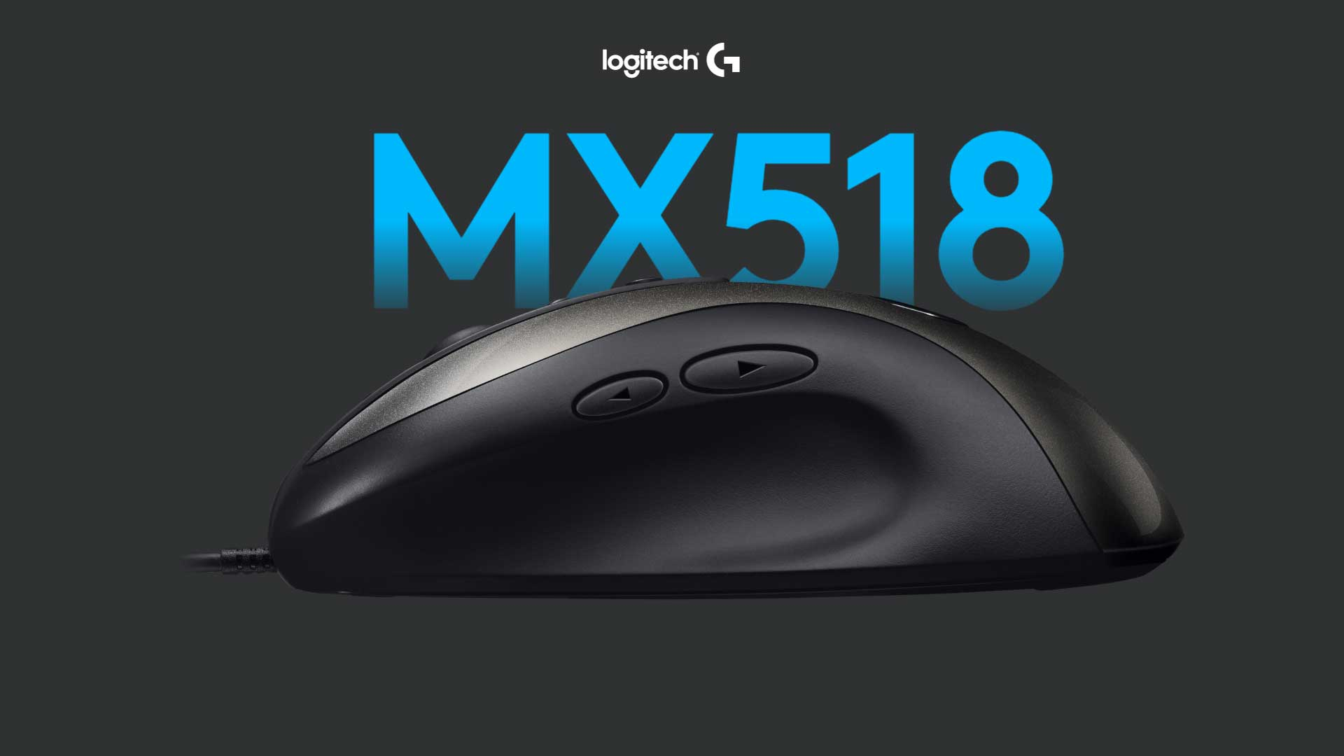 MOuse gaming Logitech mx 518 2019