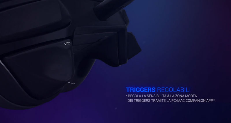 Trigger regolabili nacon revolution 2