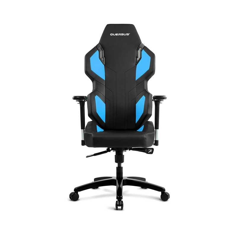 Sedia gaming quersus evos 302 azzurra e nera