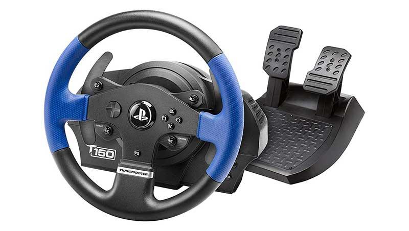 Pedaliera per volante gaming ps4 thrustmaster t150