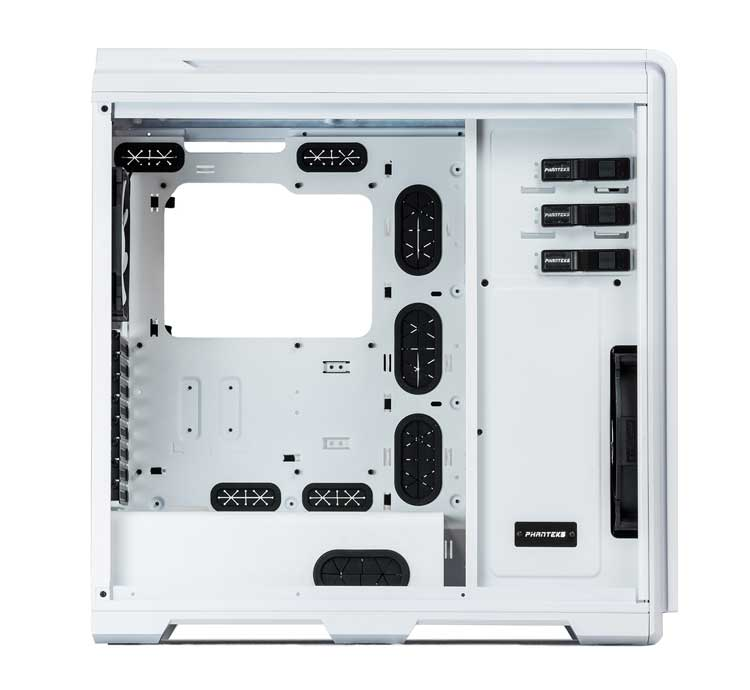 Vista laterale del Case full tower gaming Tower Enthoo Pro