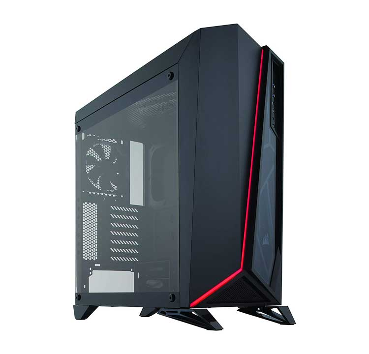 case pc gaming corsair  carbide Spec Omega RGB