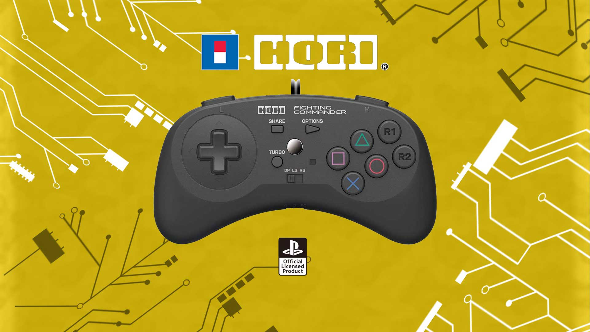 hori fighting commander recensione
