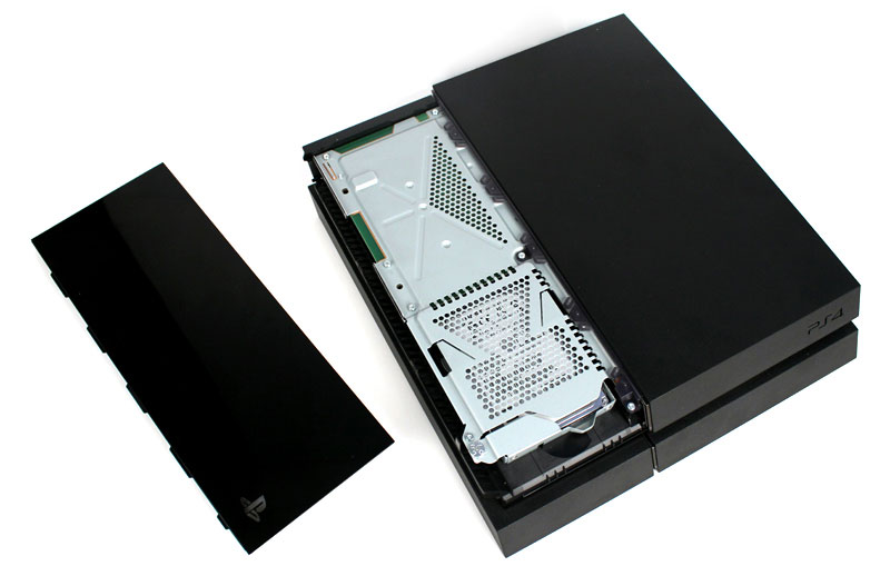 cambiare hard disk ps4 interno