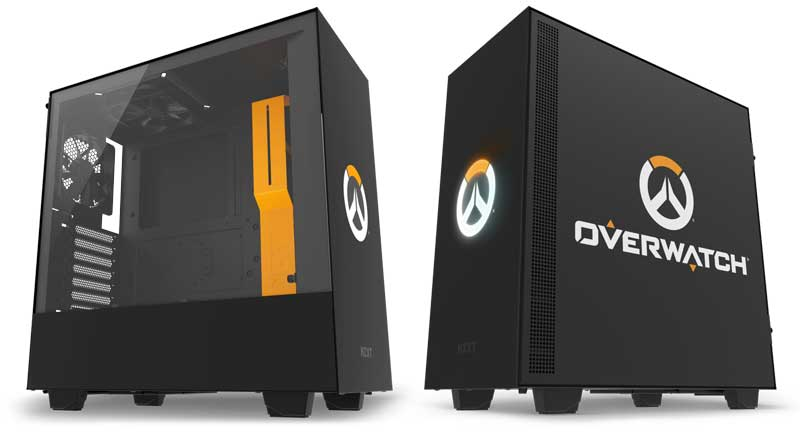 Case gaming nzxt h500 overwatch