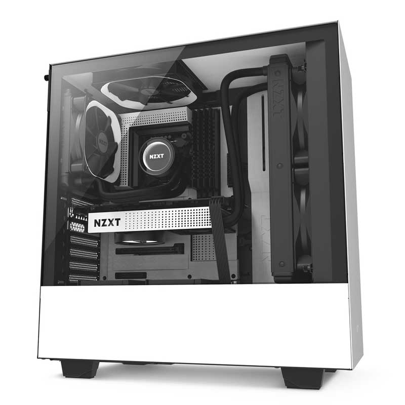 Case pc gaming nzxt h500 recensione modello bianco