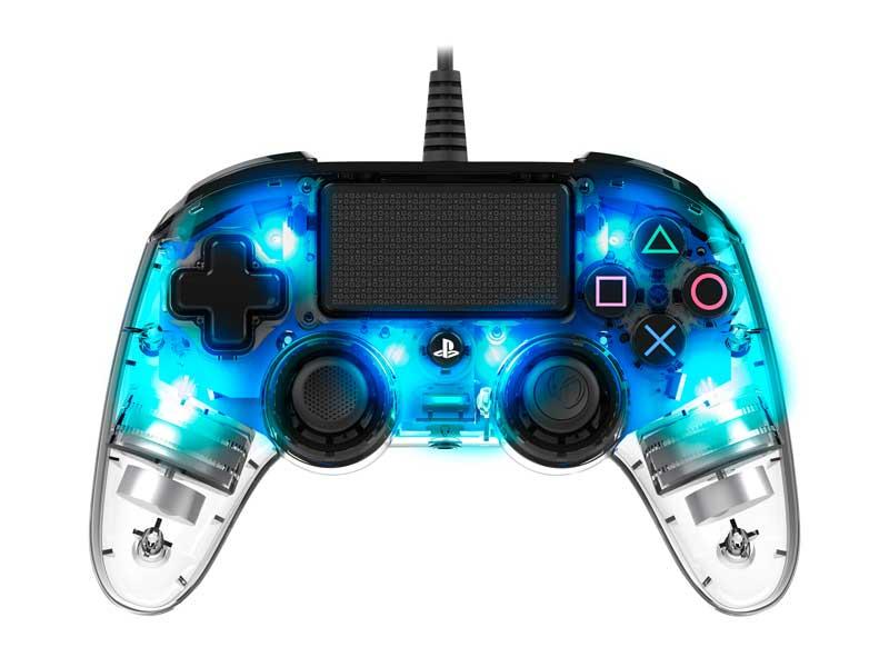 Compact controller luminoso blu