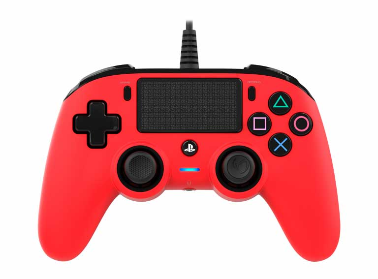 Joystick ps4  usb rosso