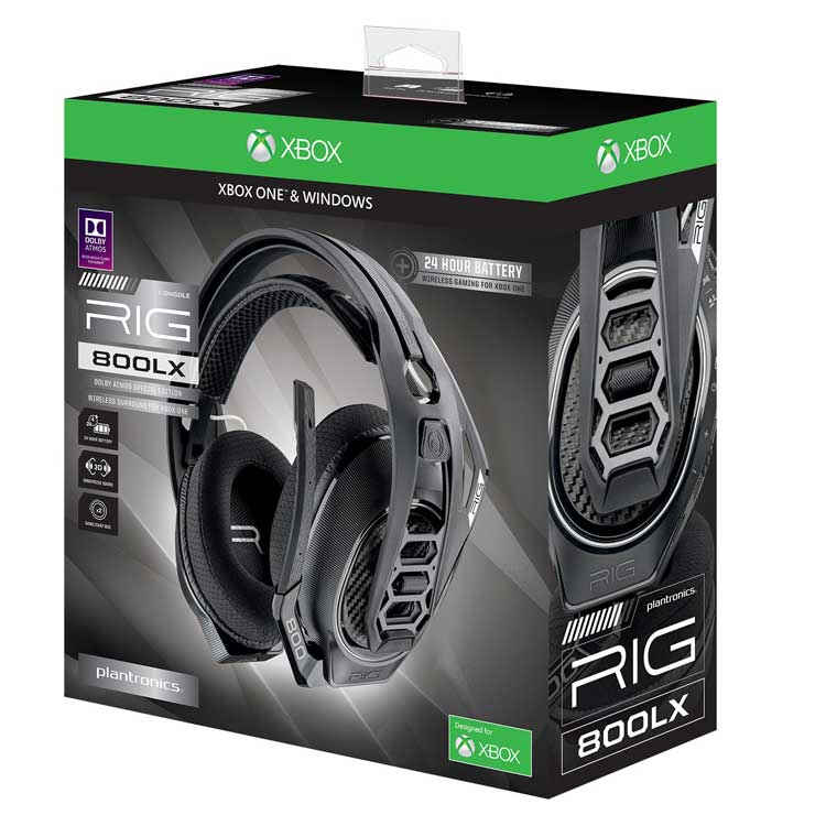 cuffie wireless xbox plantronics rig 800