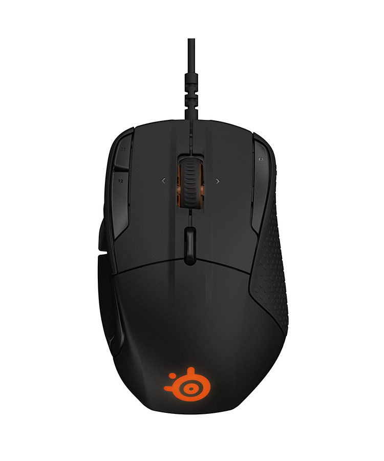 steelseries rival 500 vista da sopra