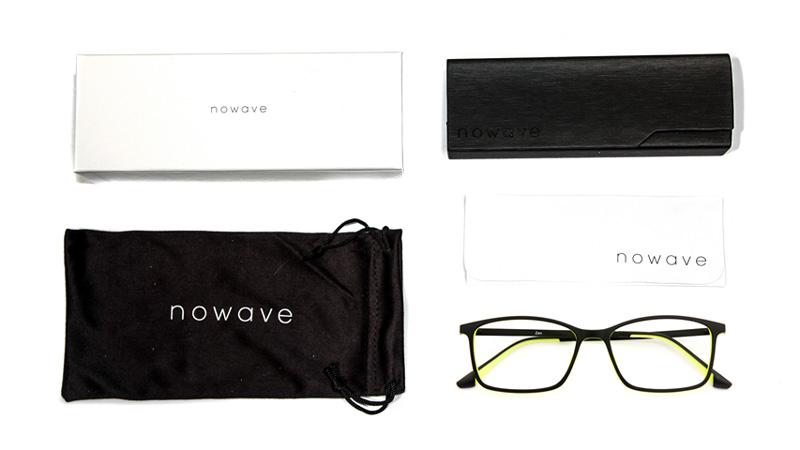 confezione nowave occhiali gaming anti luce blu