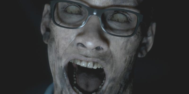 Un viso di Man of Medan: occhi verso il cielo e un ultimo urlo strozzato in gola