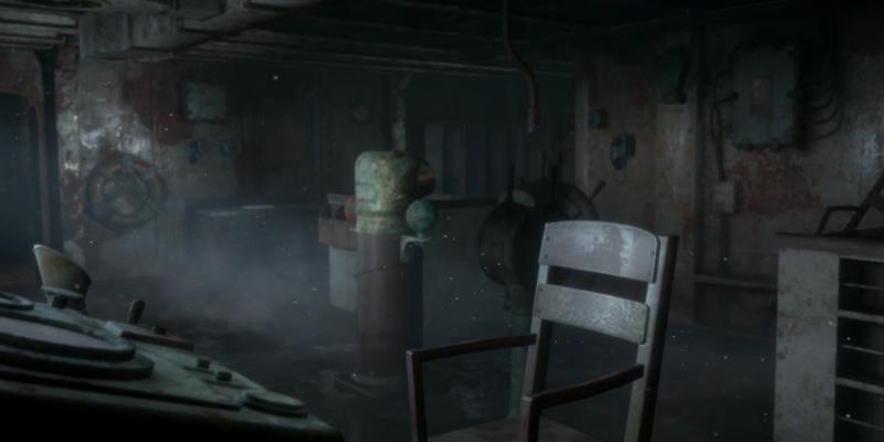 Un dettaglio della nave fantasma di Man of Medan