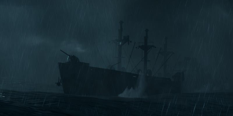 Man of Medan si svolge in una nave abbandonata nell'oceano
