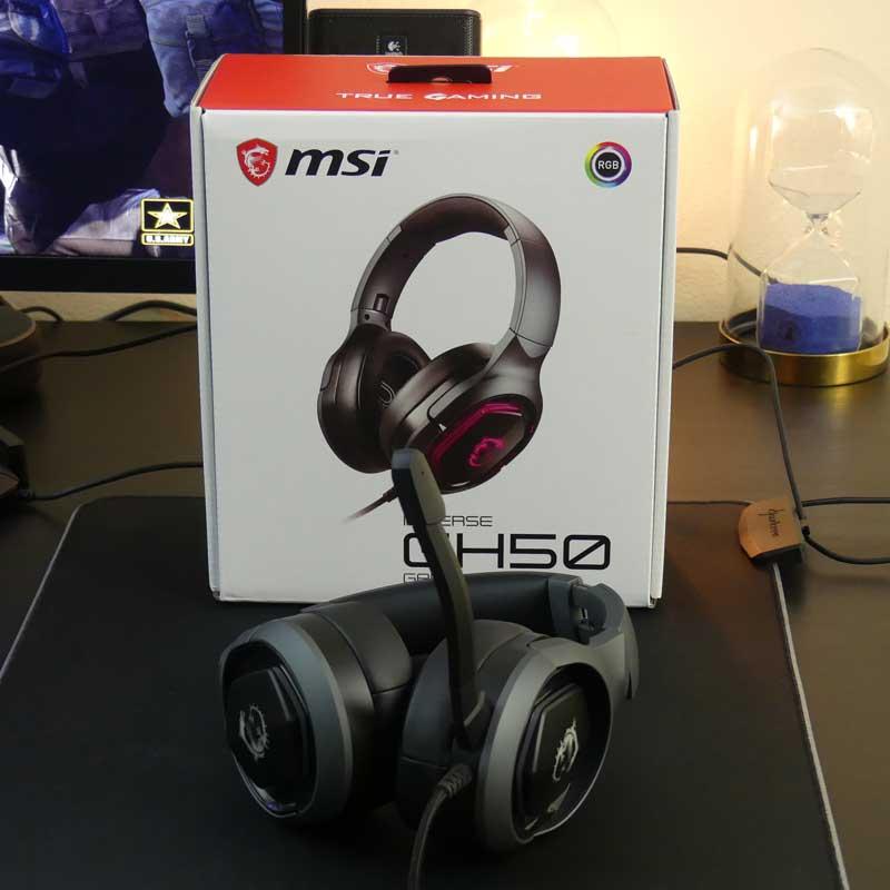 Test MSI GH50