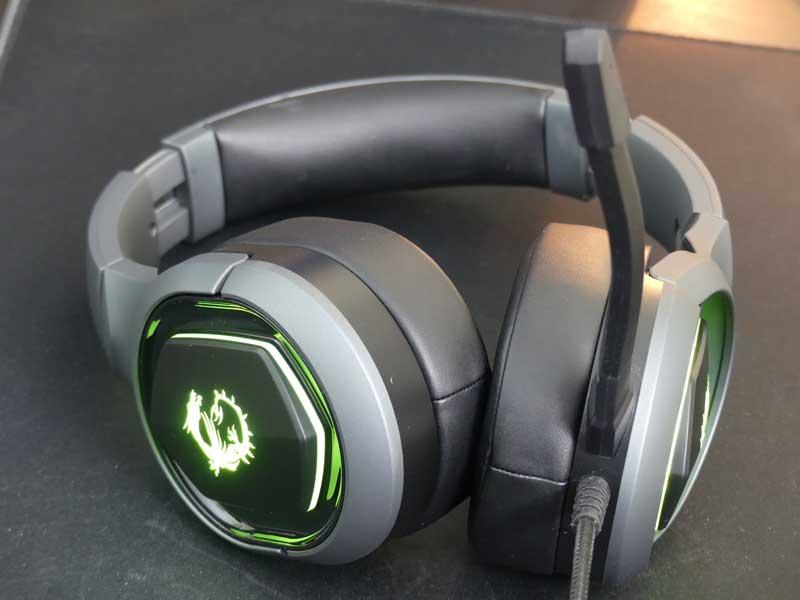 Design cuffie MSI GH50