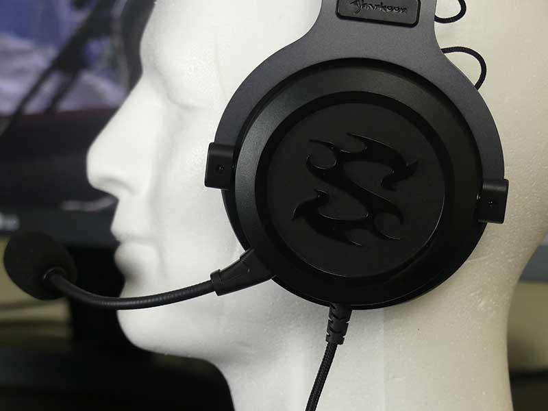 sharkoon skiller sgh3 padiglioni con logo