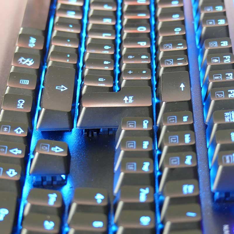 Tastiera gaming economica meccanica