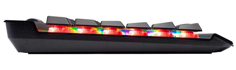 K70 RGB MK2 basso profilo
