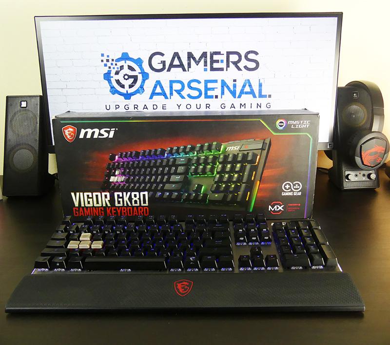msi gk80 test tastiera gaming meccanica